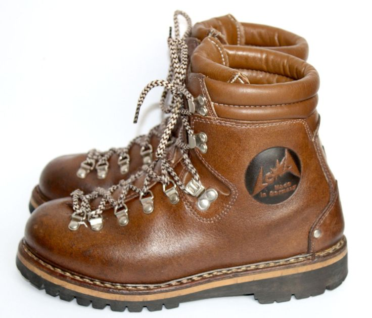 lowa leder zwiegen hte bergschuhe wanderstiefel trekking boots gr 41 ebay camping travel. Black Bedroom Furniture Sets. Home Design Ideas