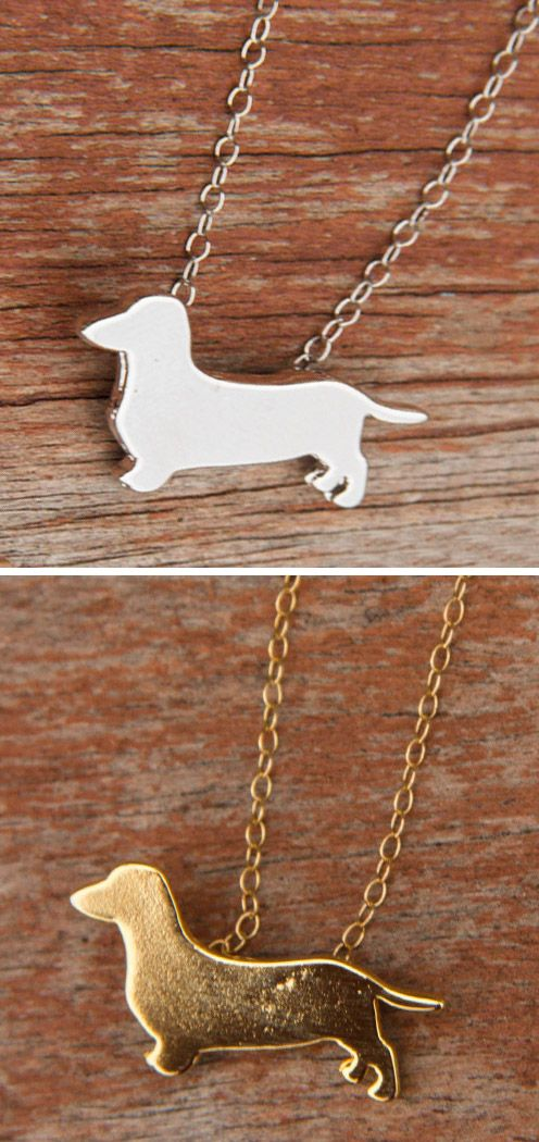 I love dachshunds, and I love these! http://theilovedogssite.com/product/silver-dachshund/?utm_source=PinterestAd_2DoxieNecklaces&utm_medium=link&utm_campaign=PinterestAd_2DoxieNecklaces