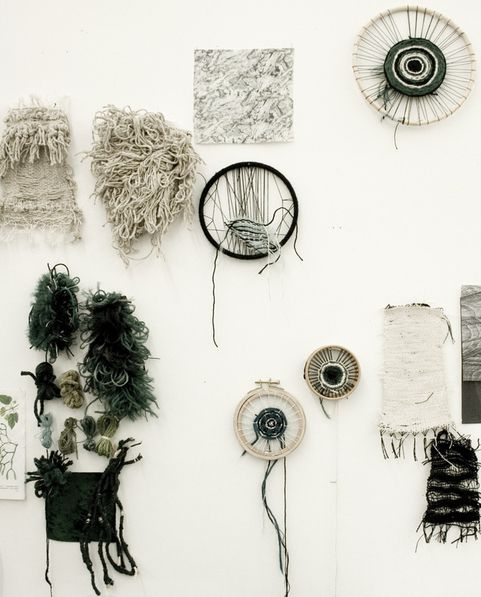 Textiles Reminds me of 'the natural world' feathers, cell structure etc