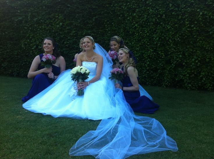 Glamour ride bride