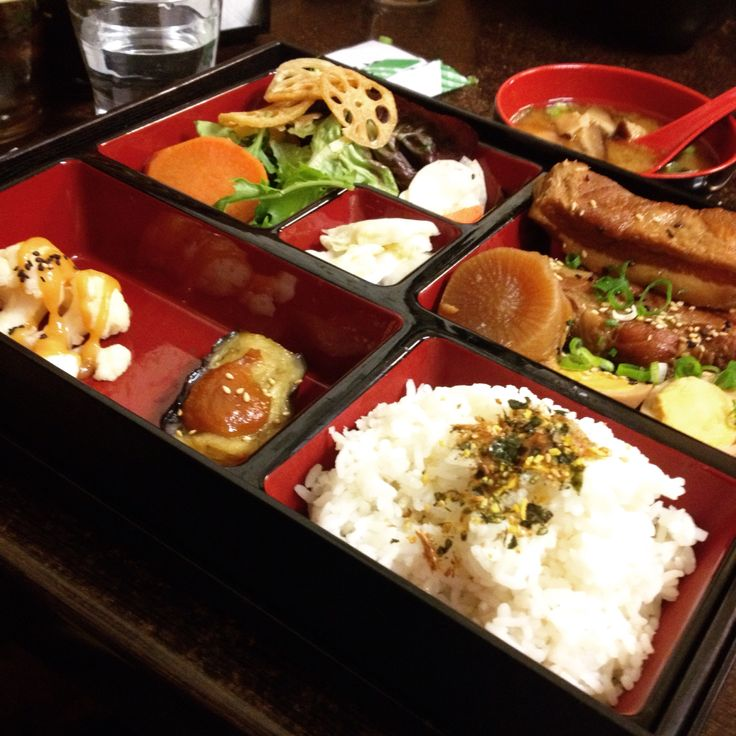 Ebi Fine Food (Footscray): Pork Belly Bento Box [8/10].