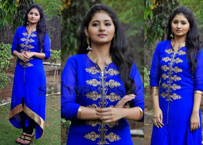 Reshmi Menon Blue Churidar | Indian Dresses