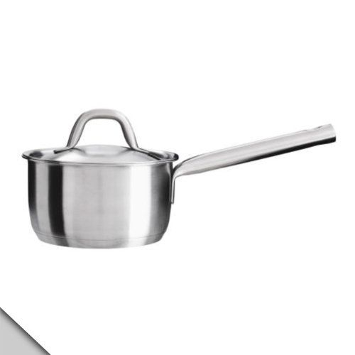 Småland Böna IKEA   365+ Saucepan With Lid 1QT, Stainless Steel By IKEA. Glass  CooktopDomestic ...