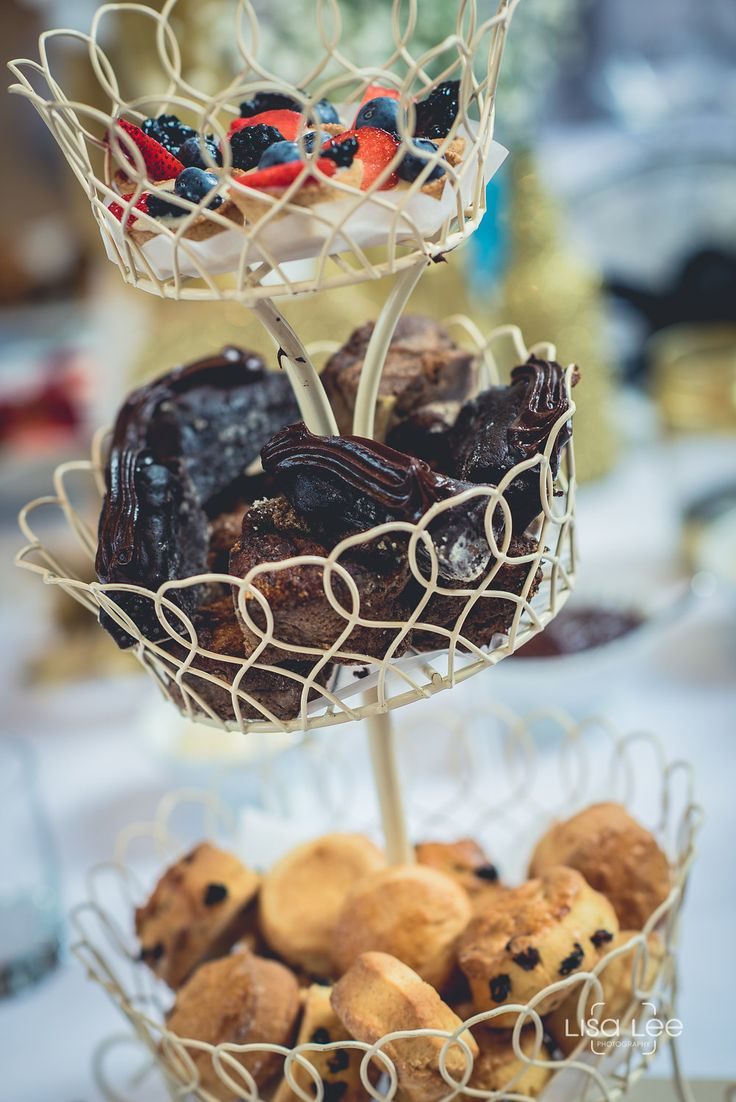 A lot of our couples tend to opt for an afternoon tea for their wedding breakfast. We provide a selection of savoury and sweet homemade treats!