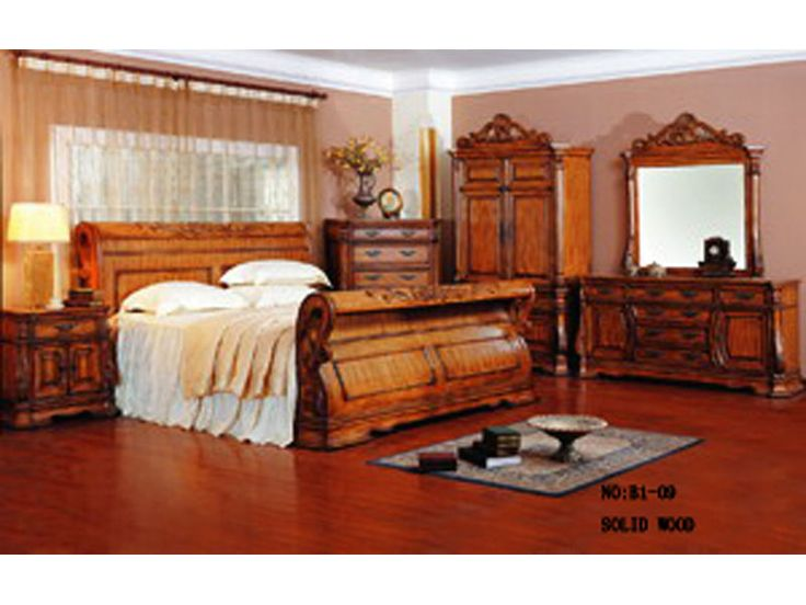 Antique Bedroom Furniture | Antique Bedroom Sets(R1-01) - China Solid Wood Calssical Furniture