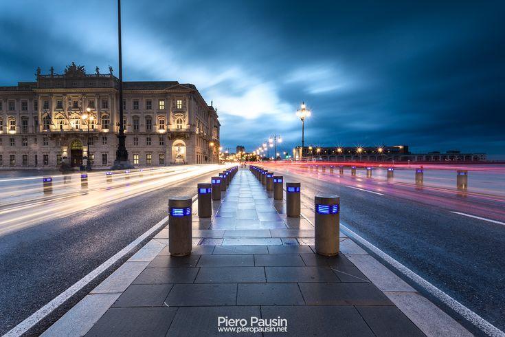 Rive di Trieste all'Ora Blu
