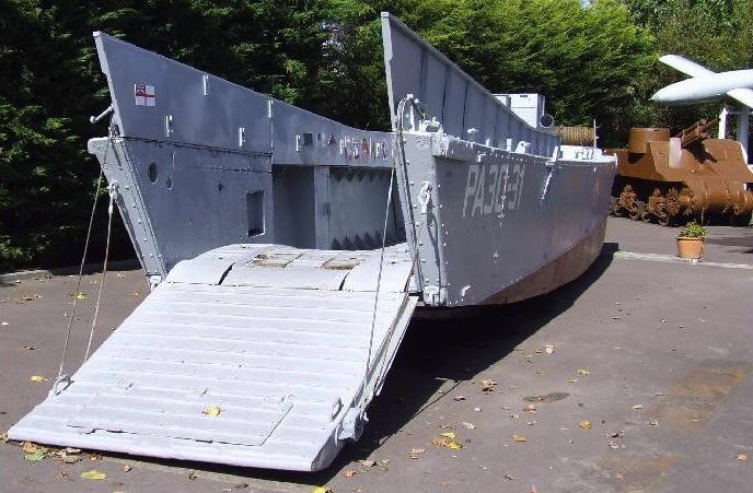 d-day landing equipment