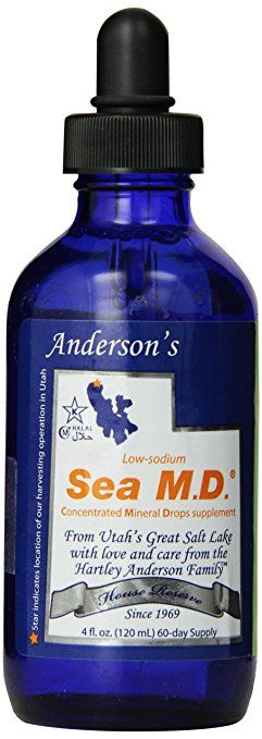 Andersons Concentrated Mineral Drops