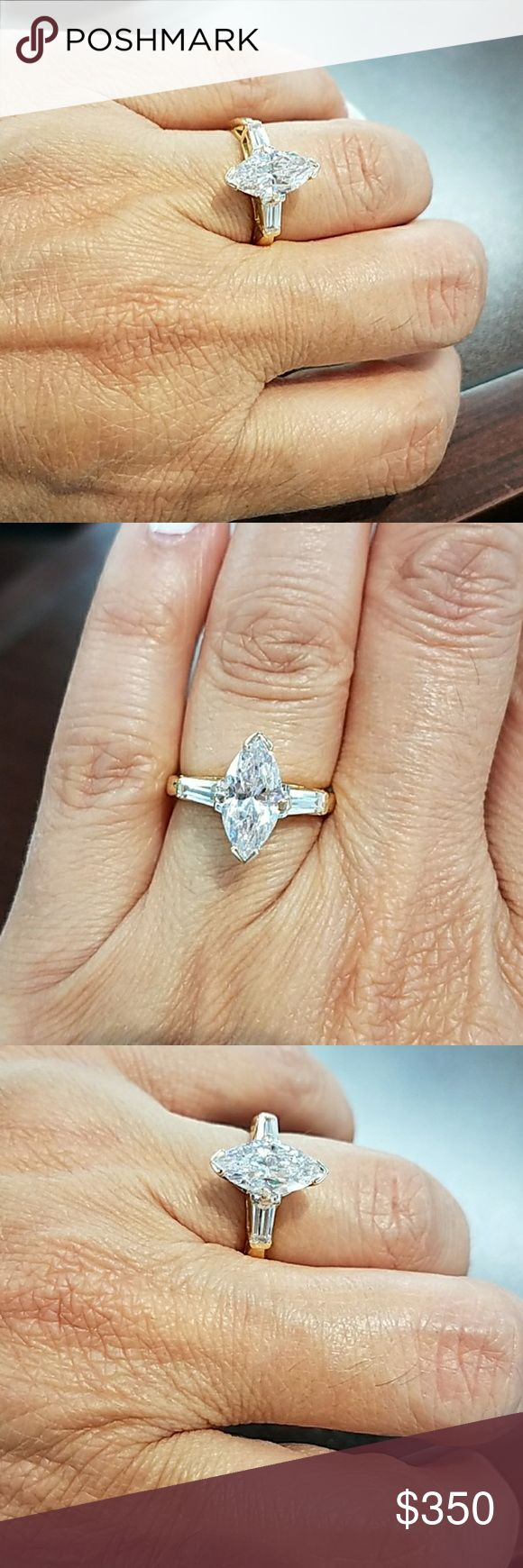 cut ring engagement center fullxfull drop sterling accents il pear products made vintage water diamond esdomera s man silver