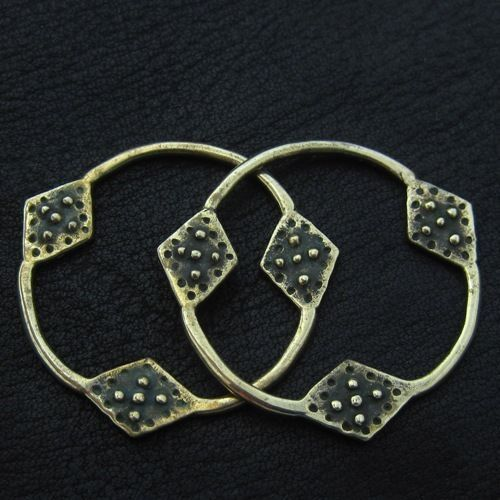 Bronze temple rings from Novgorod. Reenactment. Medieval. Fibula. Slavic. SCA.