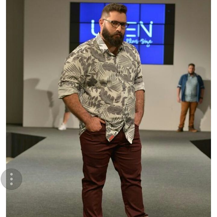 Profession : Plus Size Male Model - Mannequin homme grande taille -  Marcelo Oliveira  - #chubster #barnab #MenOfWeight #plusmalefashion #PlusMenRevolution #plussize #plussizemalemodel #pmmlovemybody #psbloggers #stylehasnosize #bigandtallmodel #brawn #kurvenrausch