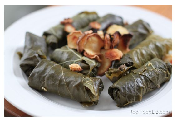 Simple Stuffed Grape Leaves (Dolmas) - Stuffed grape leaves are ...