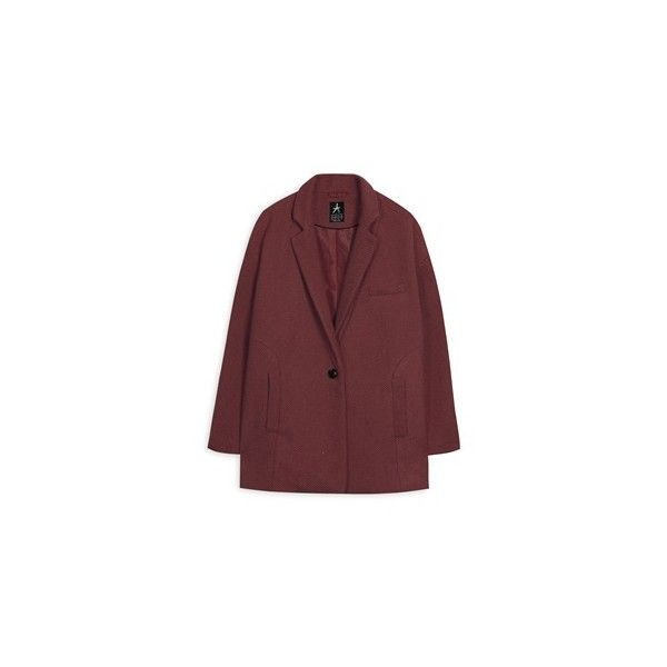 Primark - Coats & Jackets ❤ liked on Polyvore featuring outerwear, coats and red coats