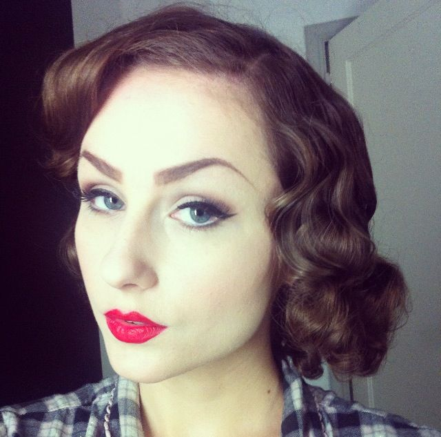 40s style hair 1000 ideas about sponge rollers on heat 1937