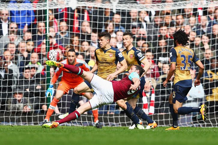 Our good form continued into April, which included this hat-trick from an inspired Andy Carroll in a 3-3 draw with Arsenal