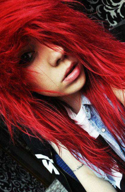 fire red hair | Tumblr
