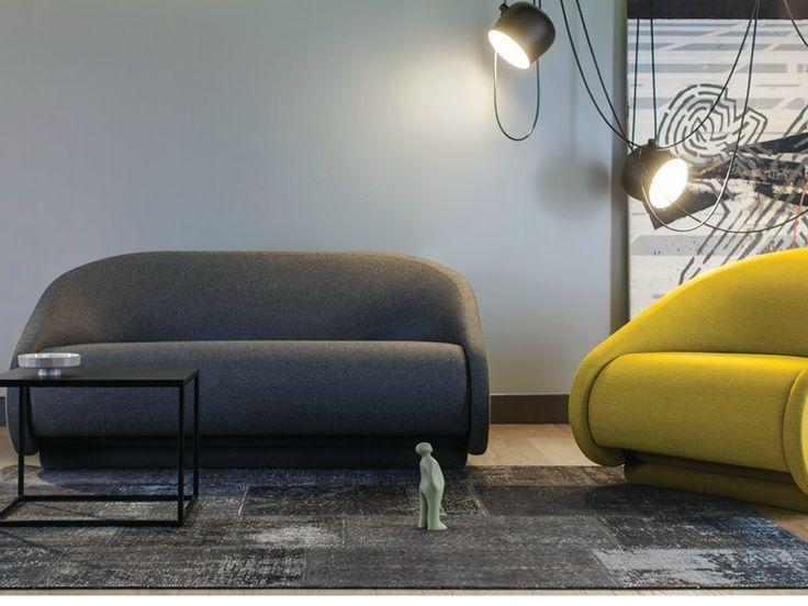 Divano letto in tessuto a 2 posti UP-LIFT | Divano letto - prostoria Ltd