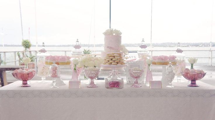 Vintage Lace Chistenin: Vintage White, Birthday Parties, Sweet Tables, Baby Shower Ideas, Vintage Lace, Christening Desserts Tables, Parties Ideas, Tables Ideas, Christening Ideas