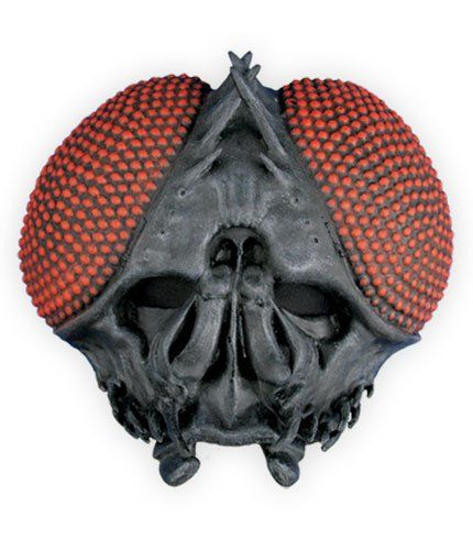 Adult Housefly Halloween Costume Buzz Half Mask Specter S...