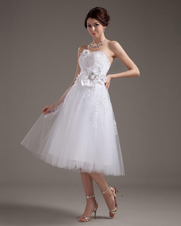 12 best Tea Length Bridesmaid Dress images on Pinterest ...