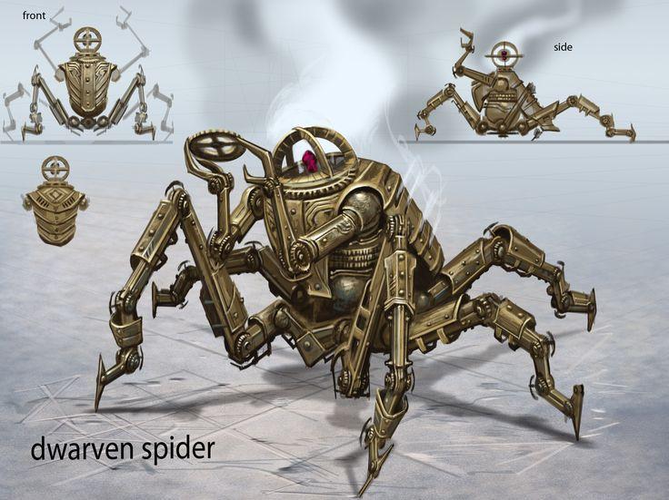Centurion Spider Leg Configuration | Video Games Artwork