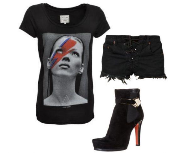 #Sorte #jeans #shorts, #sorte #t-shirt