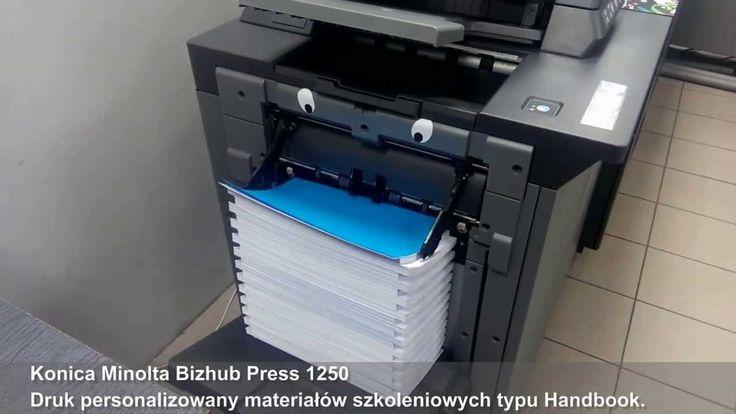 Konica Minolta Bizhub Press 1250. Zaawansowany druk czarno-biały w wysok...