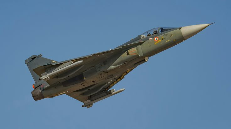"HAL ""Tejas"" (LCA-Light Combat Aircraft), Light Multirole Fighter."