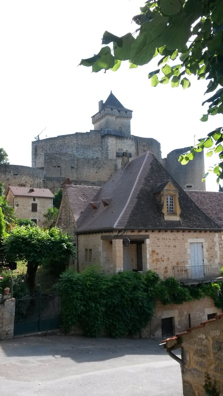 Castelnaud village