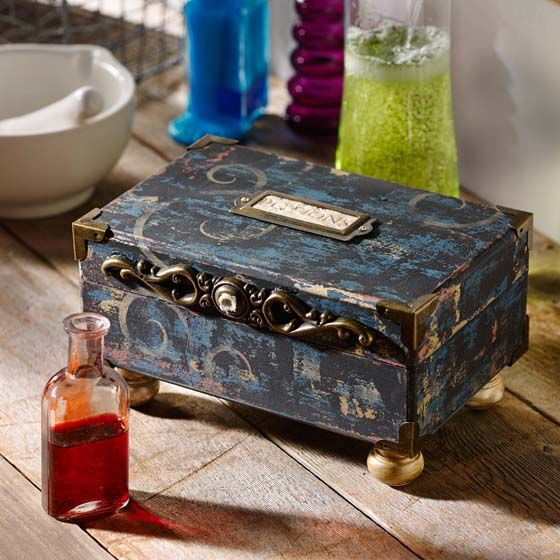 Craft Painting - DIY Halloween Potions Box
