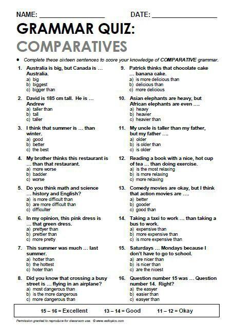 .COMPARATIVES