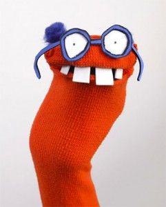 marioneta-con-calcetín