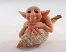 Polymer Clay Hermit Shell Dolls - Google Search