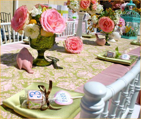 garden tea party vintage baby showerschic