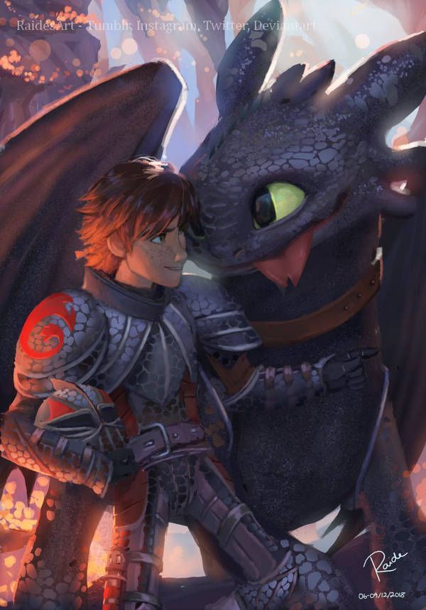 Hiccup And Toothless By Raidesart Entrenando A Tu Dragon Cómo Entrenar A Tu Dragón Jinete De Dragón