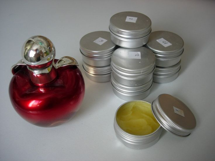 Cómo hacer perfumes sólidos