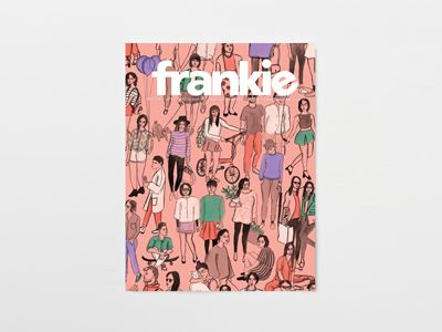 Issue 59 features chats with young documentary makers, an epic discussion with Britpop icon Damon Albarn, tips on how to cook and make friends in the Antarctic, patterns for knitting your own native birds and the slightly disturbing news that words like 'buxom' and 'defecate' didn't always mean what you think they do. http://www.frankie.com.au/current-issue/issue-59