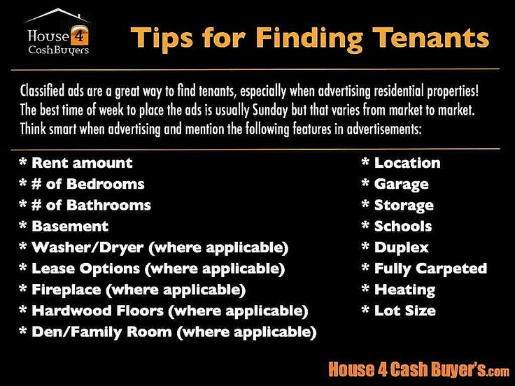 Do you have your rental property all fixed up and pretty but have not found a tenant yet? Check out these helpful tips to get your property rented out ASAP!