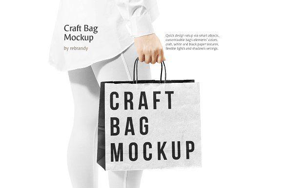 Download Craft Bag Mockup Design Mockup Free Bag Mockup Free Packaging Mockup