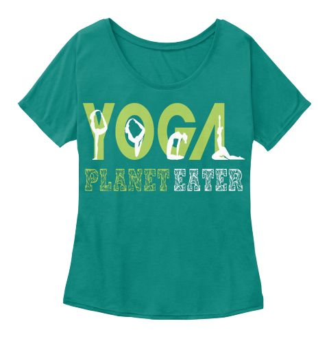 Yoga T Shirt Planet Eater Tank Top Kelly  Women's T-Shirt Front