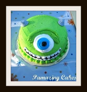 Pamazing Cakes: Monsters Inc. Birthday Cake