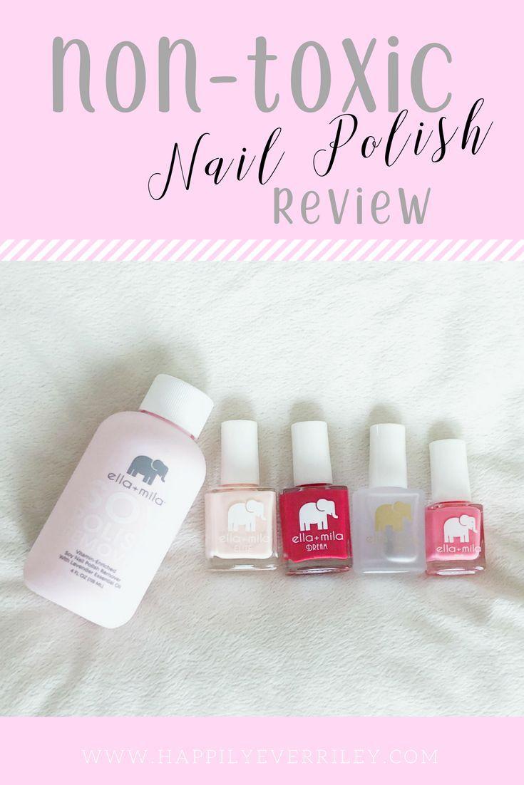 Ella + Mila Non-Toxic Nail Polish Review | Essential Oils