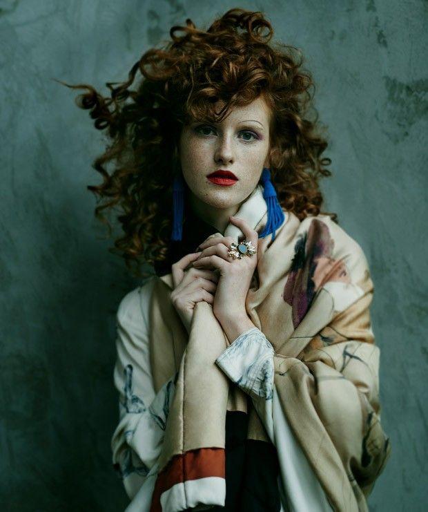 Фотосессия в Harper's Bazaar Poland (Интернет-журнал ETODAY)
