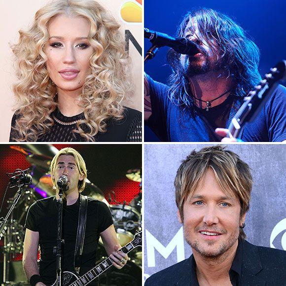Nickelback, Iggy Azalea, Foo Fighters- Toute la programmation du Festival d'été de Québec 2015 | HollywoodPQ.com