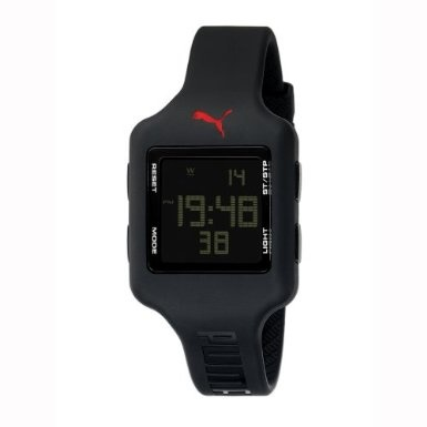PUMA Women's Black Digital Watch