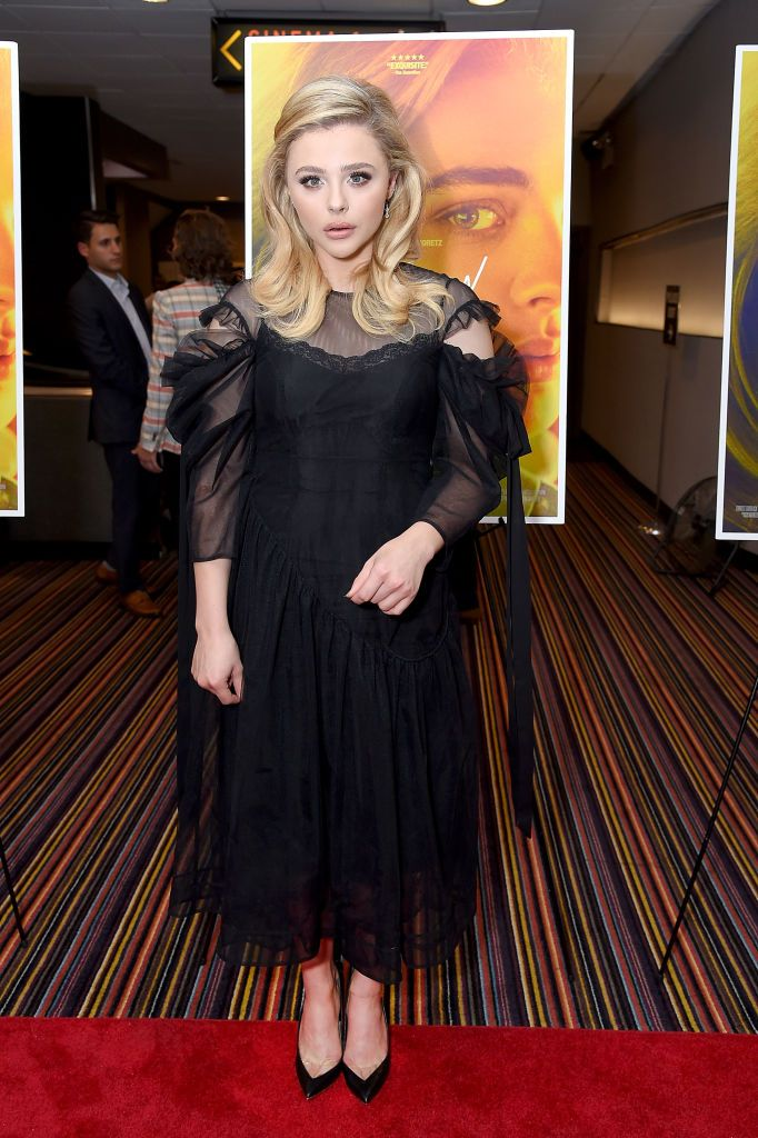Actress Chloe Grace Moretz Attends The New York Screening Of The Chloe Grace Moretz Chloe Grace Chloe