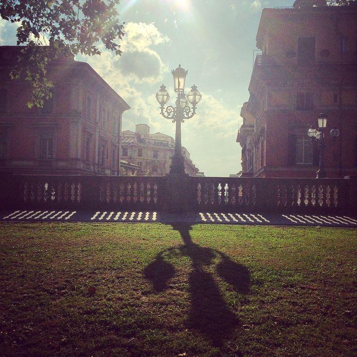Il sole dopo il temporale, Parco della Montagnola Bologna