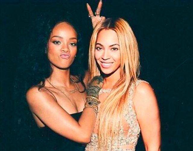 la pelea de Rihanna y Beyoncé en Twitter