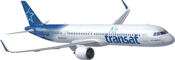 Air Transat signe un accord pour la location de 10 nouveaux Airbus A321neo LR