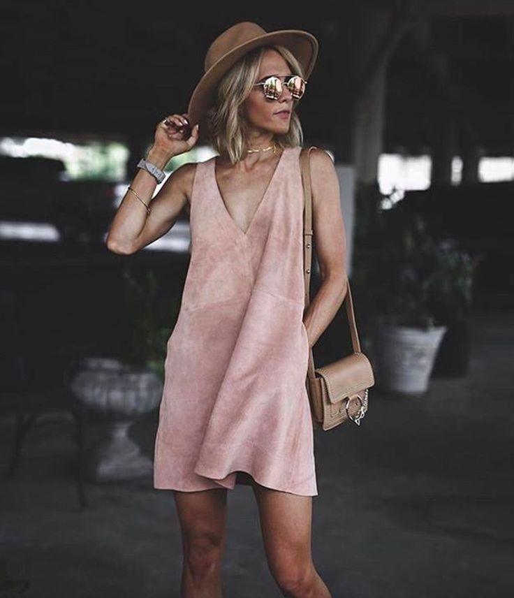 This suede mini dress by Free People is 40% off at NORDSTROM. Get this Style Deal before it's gone!